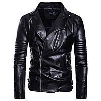 Косуха байкерская,куртка кожаная молодежная.Натуральная кожа.