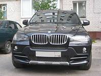 Тюнинг BMW X5 E70 накладка переднего бампера