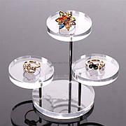 Акрилові ювелірні Дисплей - підставки для ланцюжків, перснів, намист, браслетів