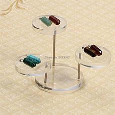 Акриловые ювелирные Дисплей - подставки для цепочек, колец, ожерелий, браслетов, фото 2