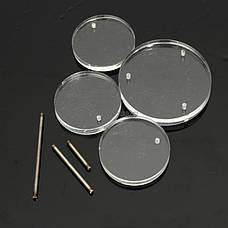 Акриловые ювелирные Дисплей - подставки для цепочек, колец, ожерелий, браслетов, фото 3