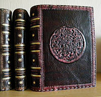 Ежедневник кожаный, фото 1