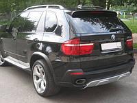BMW X5 E70 накладка заднего бампера