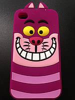 Силиконовый чехол для Iphone 4/4S Кот