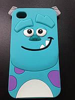 Силиконовый чехол для Iphone 4/4S Зверюшки