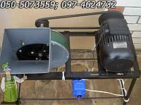 Измельчитель яблок и сочных кормов с нержавеющими ножами с новим двигателем 1.5 кВт (Выхрь)