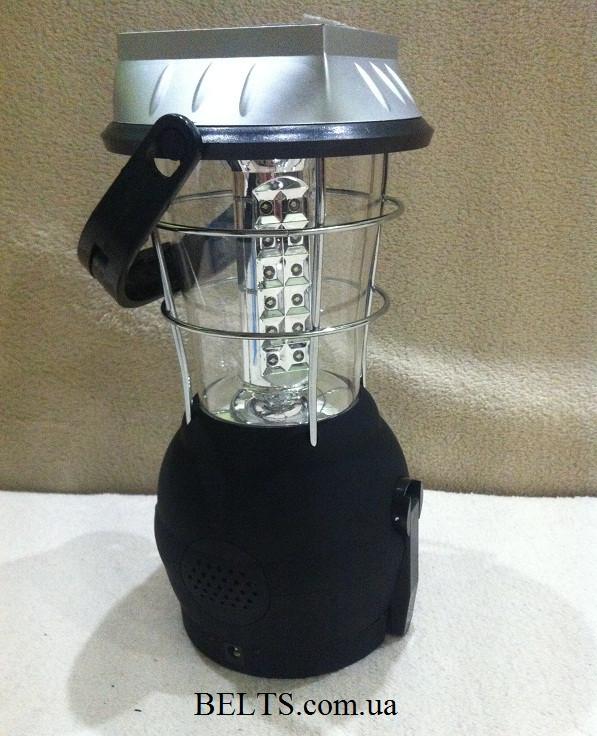 Ультра-яркий фонарь  LT-768R с радио, кемпинговый фонарь 5 в 1 Multifuctional Led Solar Lantern