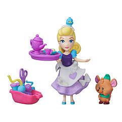 Кукла Принцессы Дисней Золушка и Гас Маленькое королевство. Оригинал Hasbro B5333/B5331