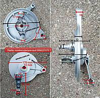 Тормозной барабан(панель) для мопедов (Аlfa/Delta)
