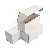 Картонные коробки самосборные 300х130х130, белые