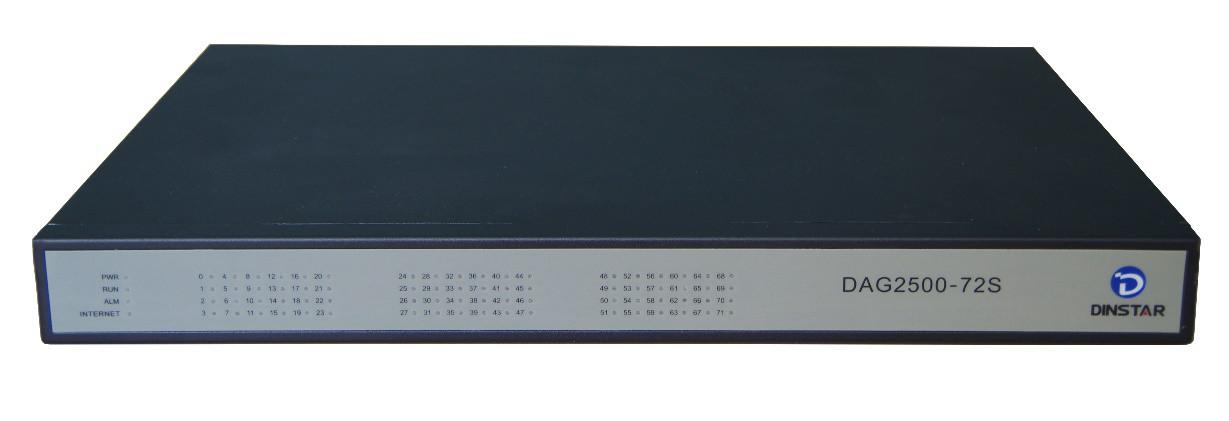 FXS шлюз Dinstar DAG2500-72S