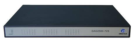 FXS шлюз Dinstar DAG2500-72S, фото 2