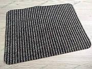 Коврик грязезащитный Рубчик коричневый 40х50см