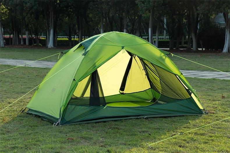 Палатка Naturehike 2 местная. Зеленая