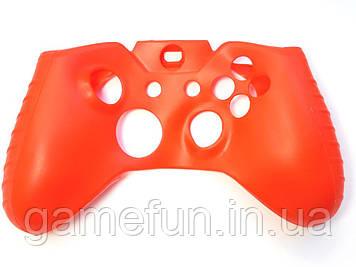 Силиконовый чехол для джойстика Xbox ONE (Красный)