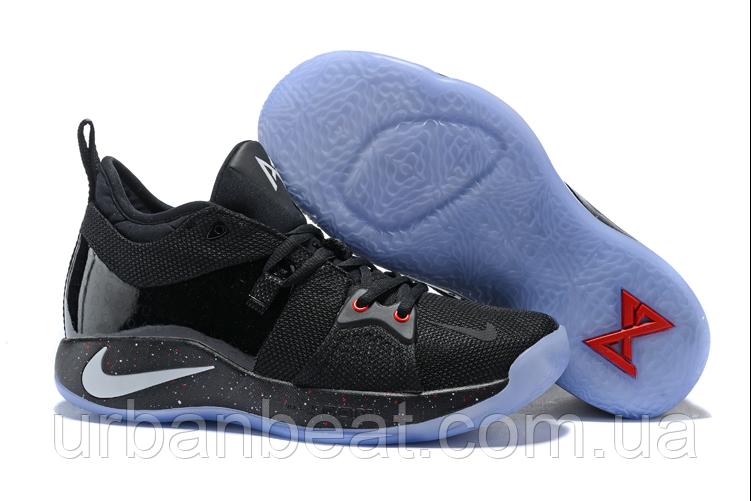 Баскетбольные кроссовки Nike PG2 PlayStation Trainers Black РЕПЛИКА ААА+, фото 1