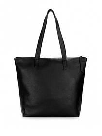 Кожаная сумка черная 6522-11