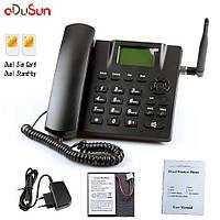 Стационарный gsm телефон sertec p938-22 на 2 сим карты с функцией записи разговоров, фото 1
