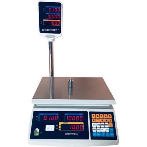 Торговые весы Днепровес ВТД 3ЕД до 3 кг