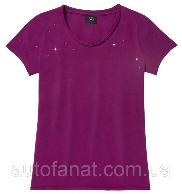 Оригинальная женская футболка Mercedes Women's T-shirt, Plum (B66958309)