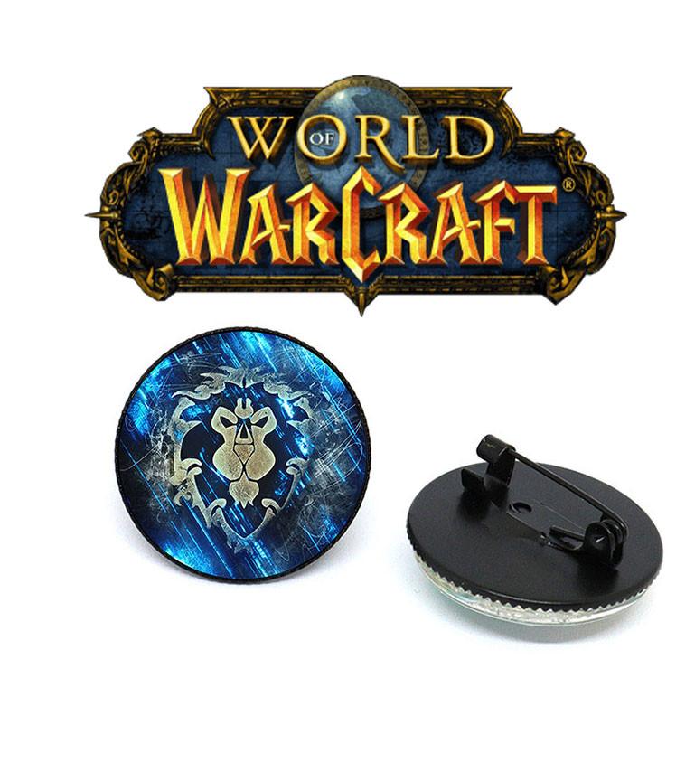 Пин значок Логотип символа альянса Warcraft Варкрафт