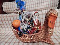 """Подарочная корзинка из лозы """"Утка"""", фото 1"""