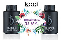 Kodi Rubber Top Gel, 35мл и Base 35 мл