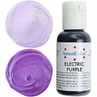 Краситель гелевый Americolor  фиолетовый электрик  21 грамм