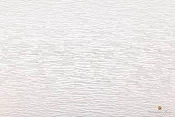 Креп бумага белая