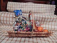 Подарочная корзинка из лозы «Плот»