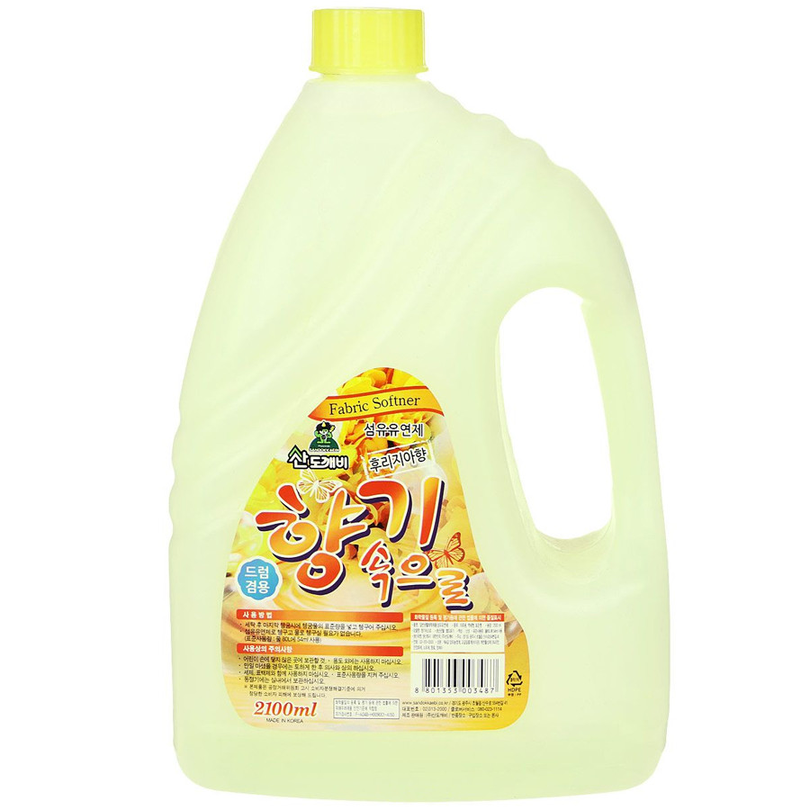 Кондиционер Sandokkaebi Soft aroma Фрезия 2.1 л (3487)