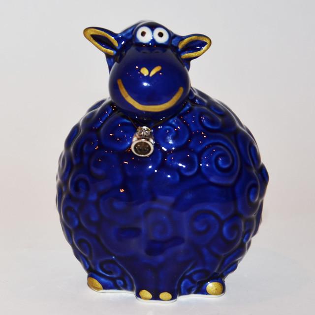 статуэтка синей овцы