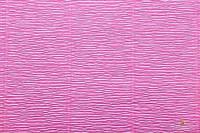 Креп бумага темно-розовая