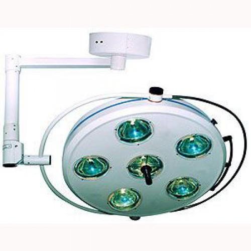 L735-II-пятирефлекторный потолочный бестеневой светильник