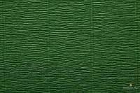 Креп бумага  зеленый