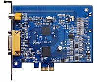 Гибридная плата видеозахвата на 4 камеры Линия PCI-E 4x25 Hybrid IP