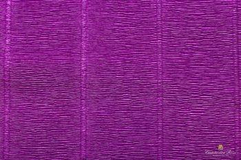 Креп бумага фиолетовая