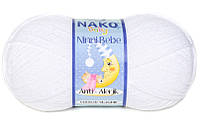Nako Ninni Bebe (Нако Нини Беби) 208 антиалергенная детская  пряжа
