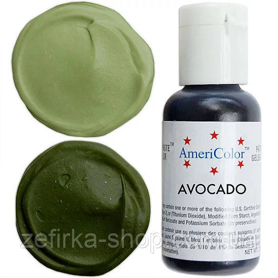 Краситель гелевый Americolor  авокадо  21 грамм