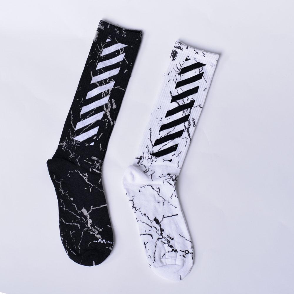 Носки SP18 OFF White Черные/Белые