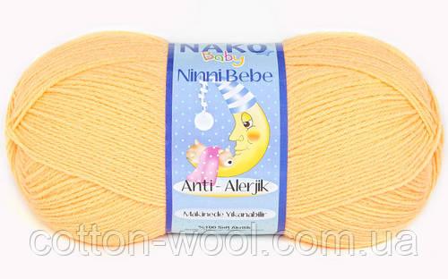 Nako Ninni Bebe (Нако Нини Беби) 10836 антиалергенная детская  пряжа