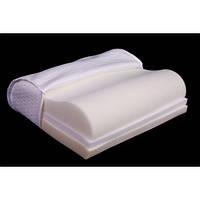Ортопедическая подушка для взрослых трехслойная с эффектом памяти Олви J2503 (ОП-03)