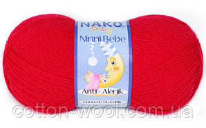Nako Ninni Bebe (Нако Нини Беби) 6555 антиалергенная детская  пряжа