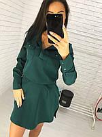 Стильное платье с карманами., фото 1