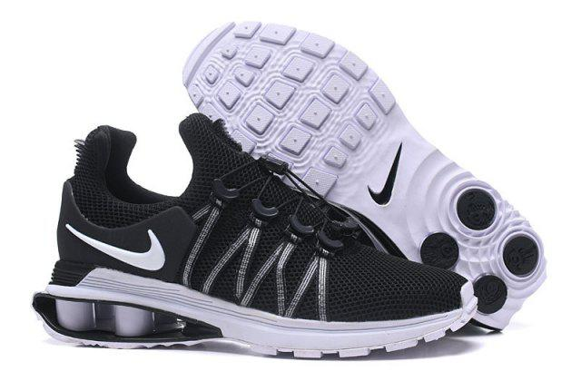 Мужские кроссовки NIKE Shox Gravity Black Черные
