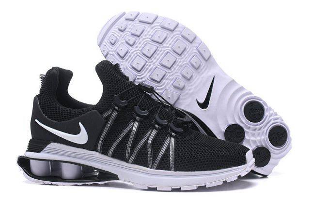 Мужские кроссовки NIKE Shox Gravity Black Черные, фото 2