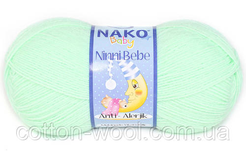 Nako Ninni Bebe (Нако Нини Беби) 2587 антиалергенная детская  пряжа