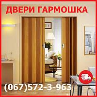 Двери гармошка под любые размеры. Двери ПВХ, 24 цвета на складе. Межкомнатные двери гармошка