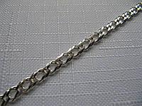 Серебряный браслет РОМБ, ДВОЙНОЙ РОМБ (5-6 грамм), фото 1