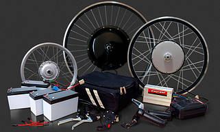 Электронаборы для велосипедов и скутеров